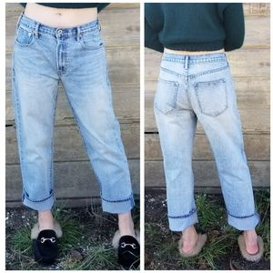 Gap   cone denim wide straight jeans